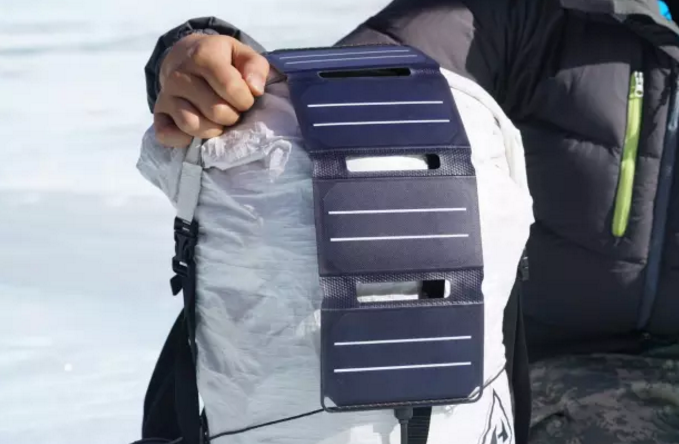 PocketPower: un caricatore solare che sta facilmente in tasca