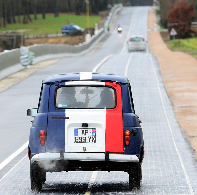 In Francia la prima strada fotovoltaica