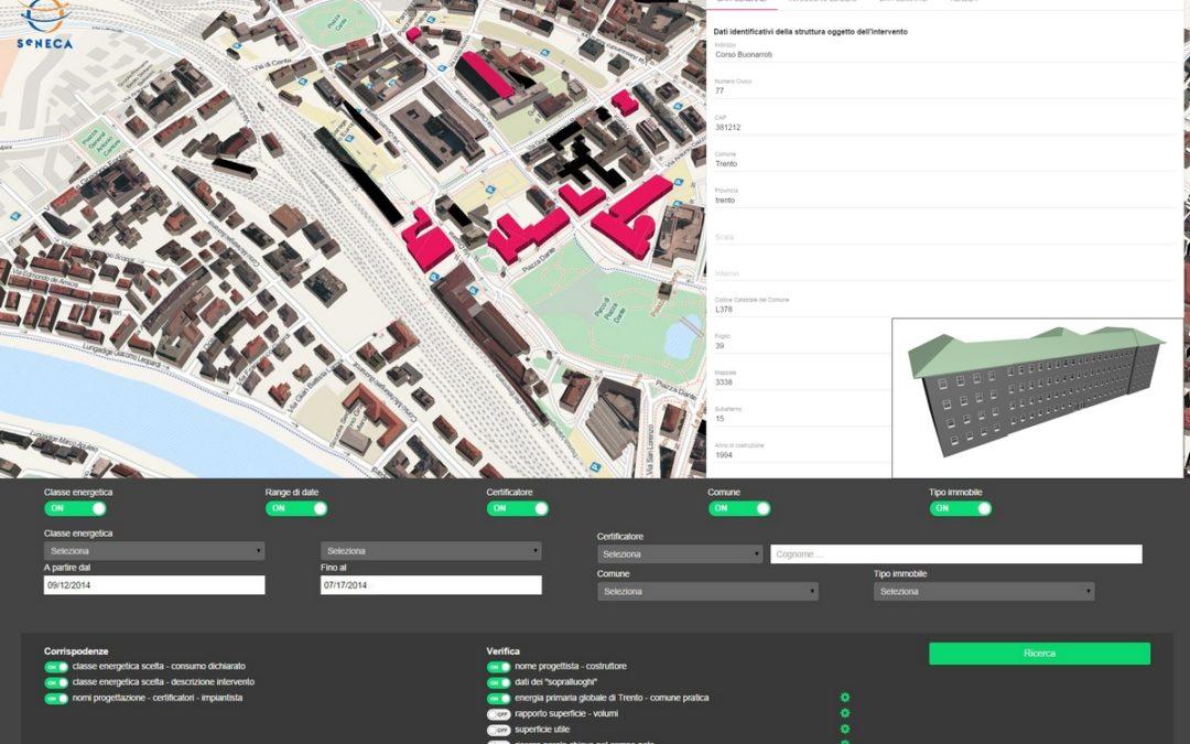 Case ed edifici in 3D per controllarne il consumo energetico