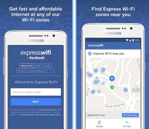 Express WiFi la nuova app di Facebook che facilita le connessioni Internet