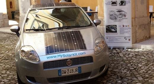 Convertire un veicolo convenzionale in uno ibrido-solare