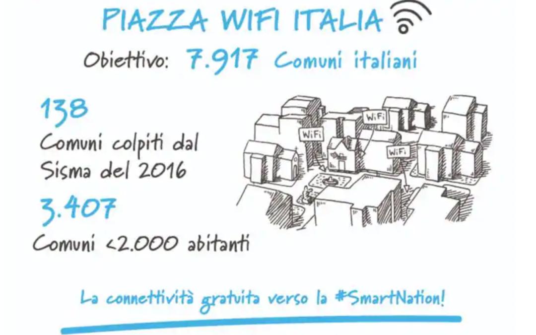 Internet gratis con il Progetto Piazza WiFi Italia
