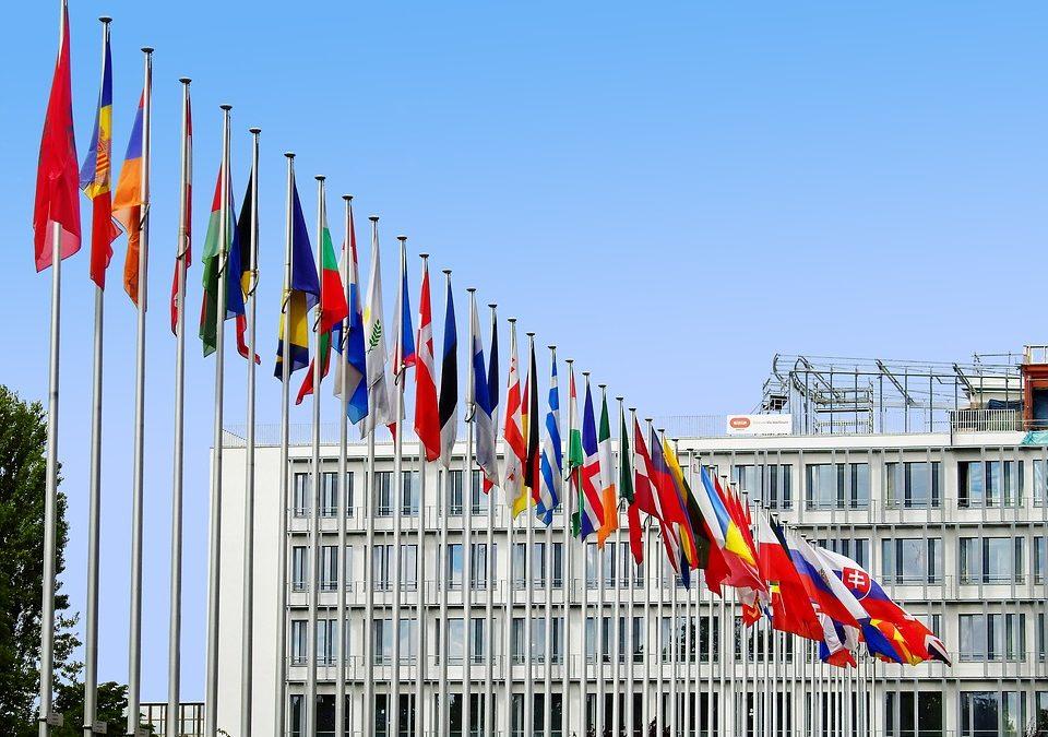 bandiere Paesi UE